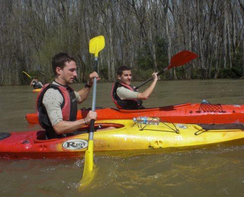 OjaSport-Kayak en el Ebro