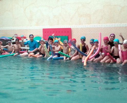 Actividades fin de curso-Natación-Ojasport