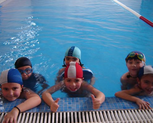 Cursos intensivos de  natación