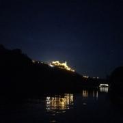 Kayak, por el río Ebro, a la luz de la luna